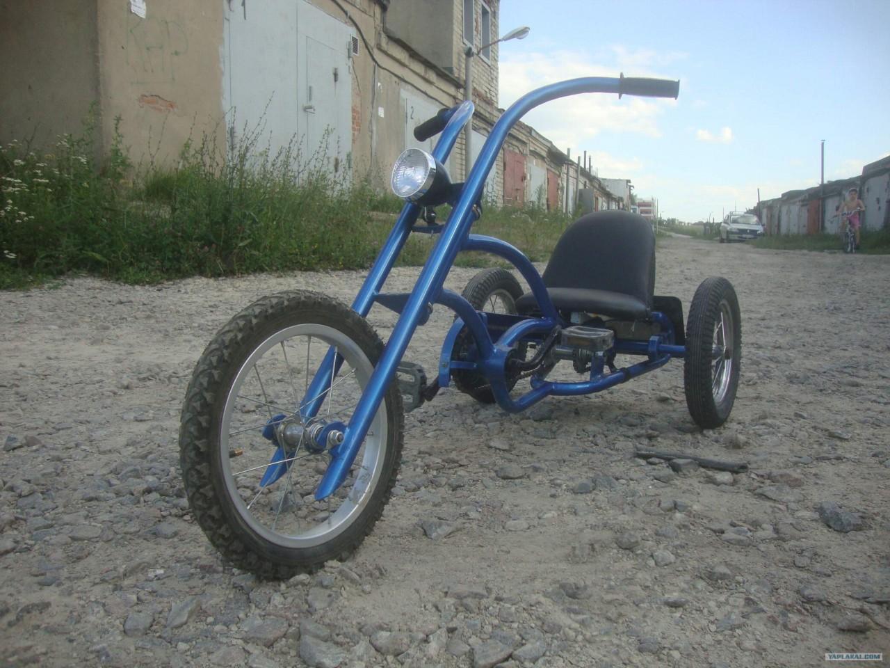 Сделал велосипед сыну
