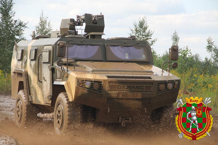 Опытная эксплуатация китайских бронеавтомобилей CS/VN3 в белорусской армии