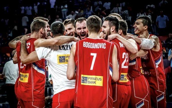 Сербия стала соперником России вполуфинале Евробаскета