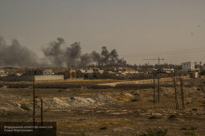 Мощный взрыв прогремел близ сирийского города Эль-Баб