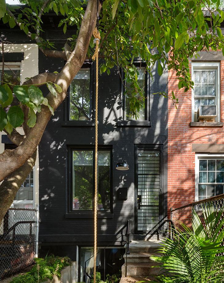 Дом шириной 3 метра в Бруклине