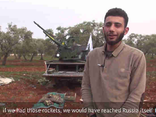 «Были бы уже в России»: опубликовано видеоинтервью с террористом, якобы сбившим Су-25