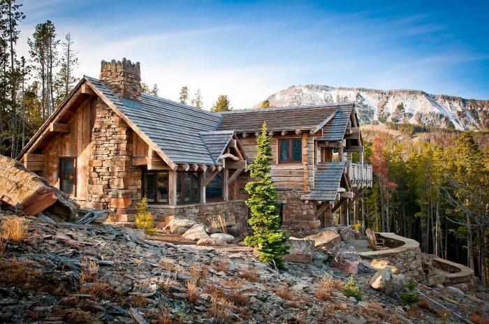Воплощение природной красоты - 12 домов, оформленных в рустикальном стиле