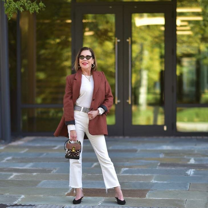 Модный образ для женщины. /Фото: krestyanka.com
