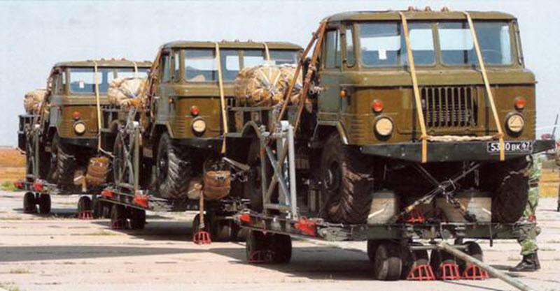 ГАЗ 66Б готовые к погрузке. авто, история, факты