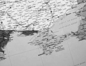 На венгерской карте от Украины отделили Крым и Одессу