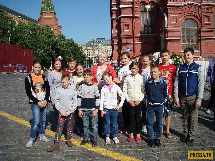 Семья Сорокиных - 76 приемных детей