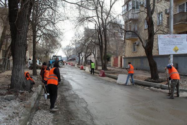 В Севастополе ремонт дороги …