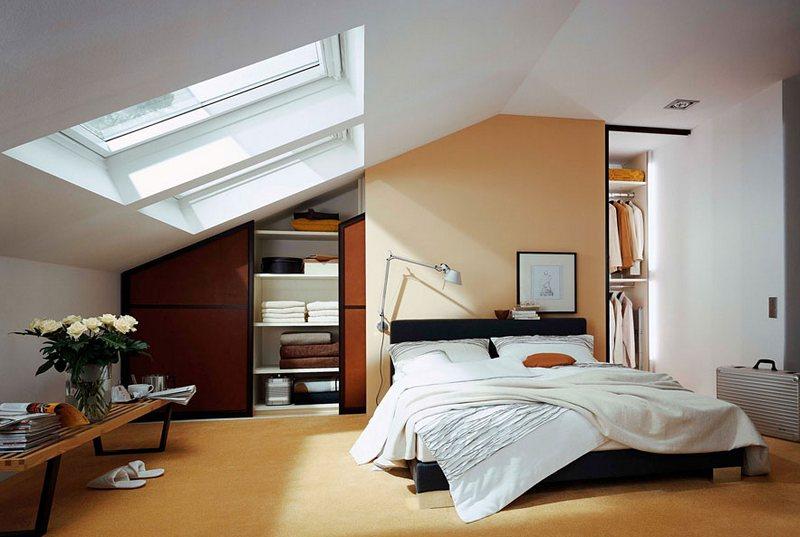 Спальня в мансарде: создаем романтический уголок для уединения под крышей