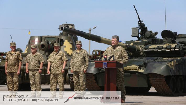 Порошенко бросает на ополченцев Донбасса новые танки Т-80