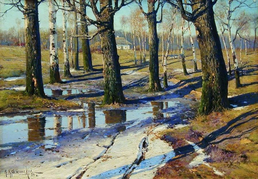 Русский живописец-пейзажист Константин Яковлевич Крыжицкий (1858–1911)