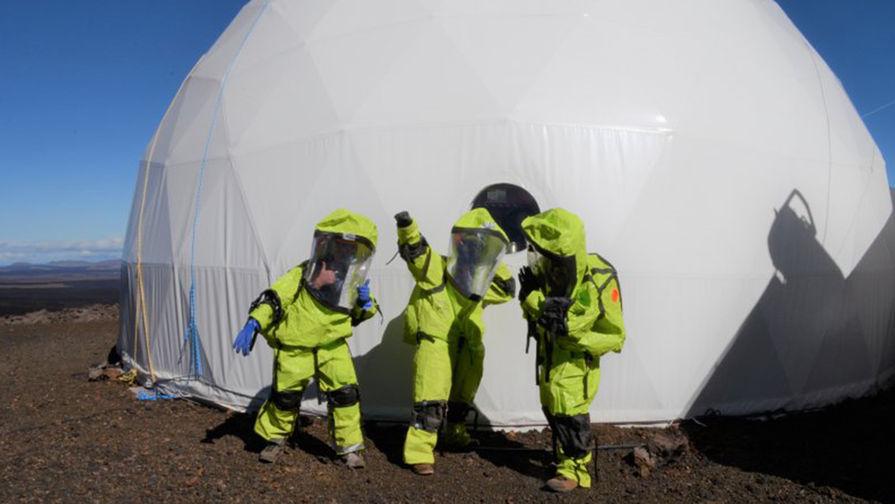 8 месяцев на Марсе: без конфликтов не обошлось