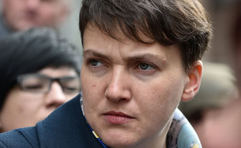 Савченко в застенках СБУ грозит «украинским гнидам»
