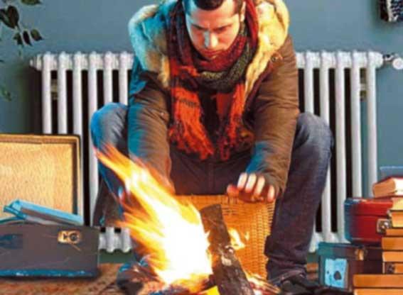 В Лондоне запретили топить дома дровами