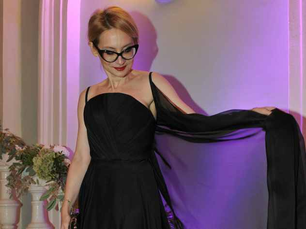 Хромченко пришла на «Модный приговор» в платье от пермского дизайнера