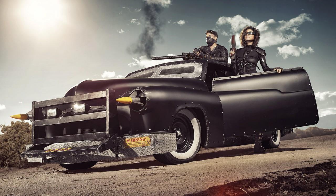 Идеальная машина для зомби-апокалипсиса