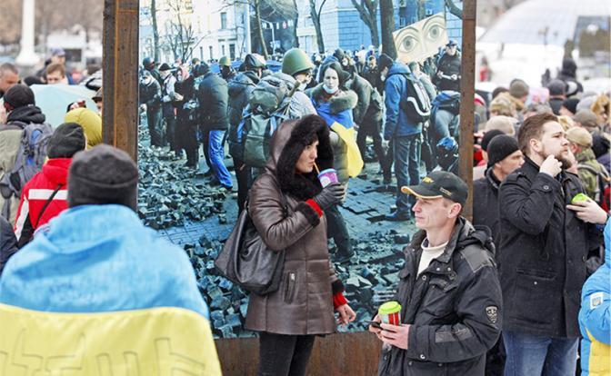 Киев в натуре: «Лера, перестань, не проси, они все равно не помогут!»