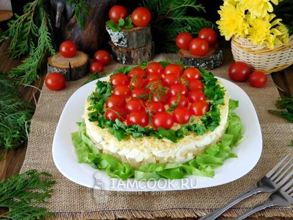 Салат «Красная поляна»