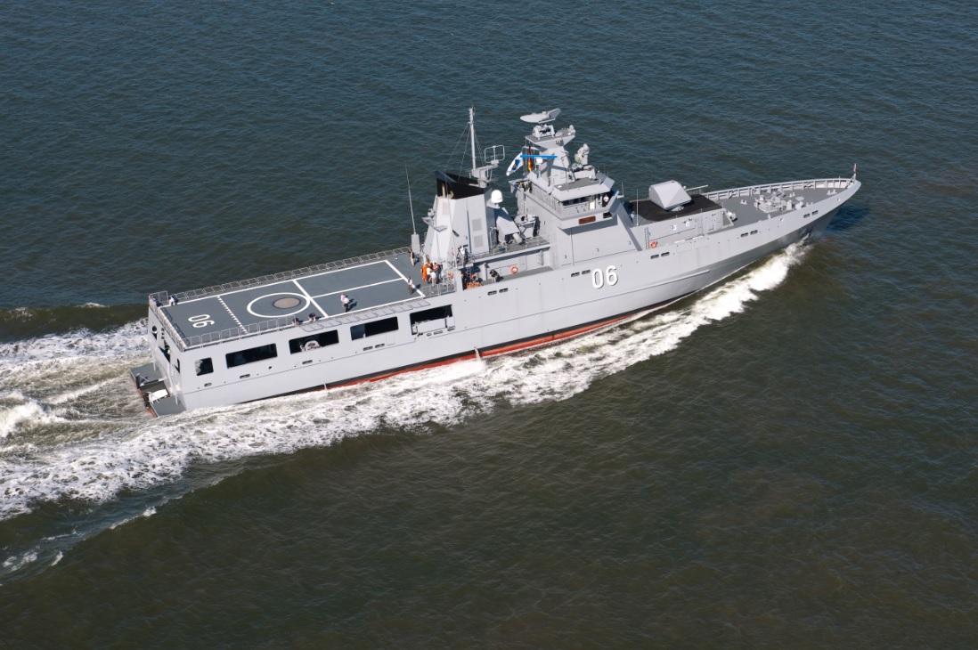 Германская компания Lürssen победила в тендере на постройку патрульных кораблей для Австралии