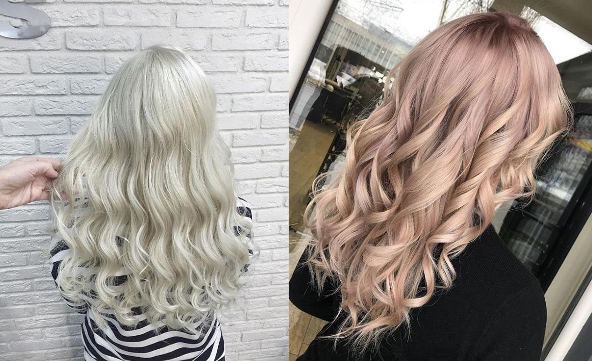 Модные оттенки блонда в ново…