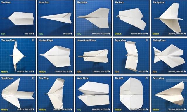 Как складывать бумажные самолётики