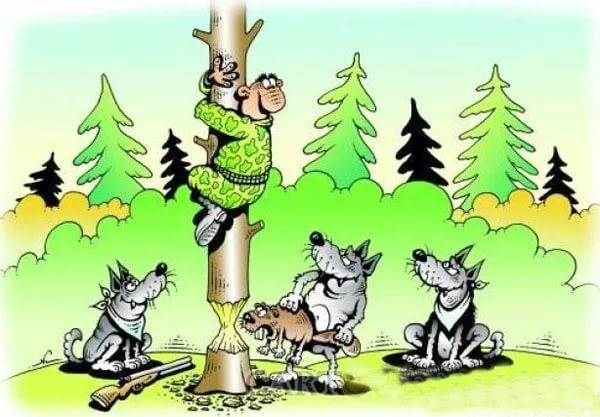 Шесть раз про охоту