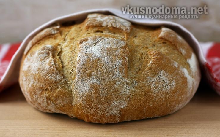 Хлеб в духовке по-домашнему
