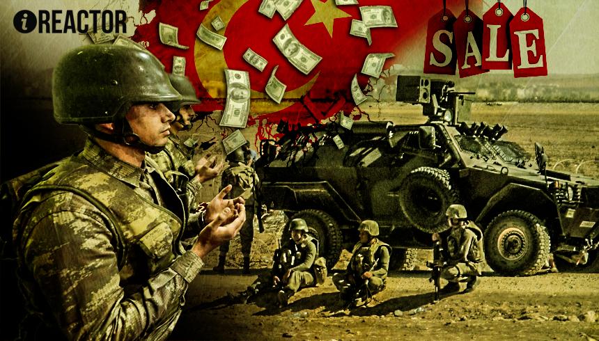 Турецких вояк уличили в перепродаже «уничтоженных» броневиков и оружия