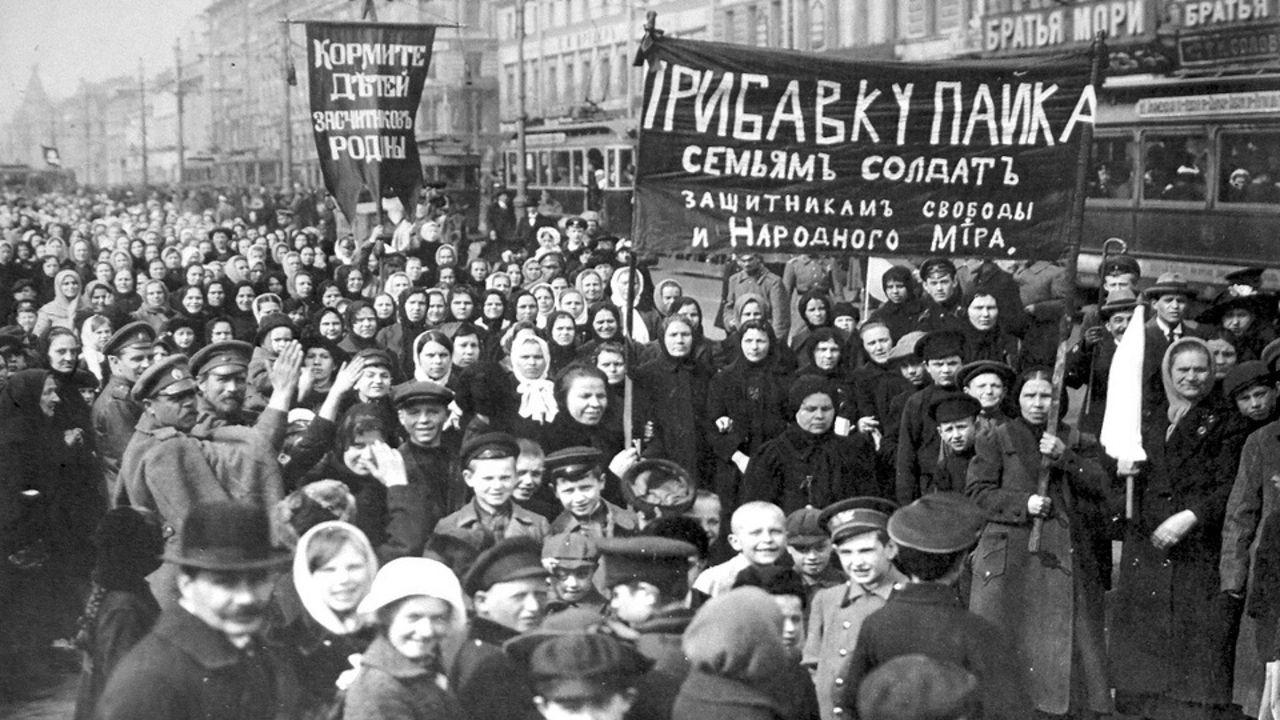 «Хлеба! Мира!»: социальная хроника 1917