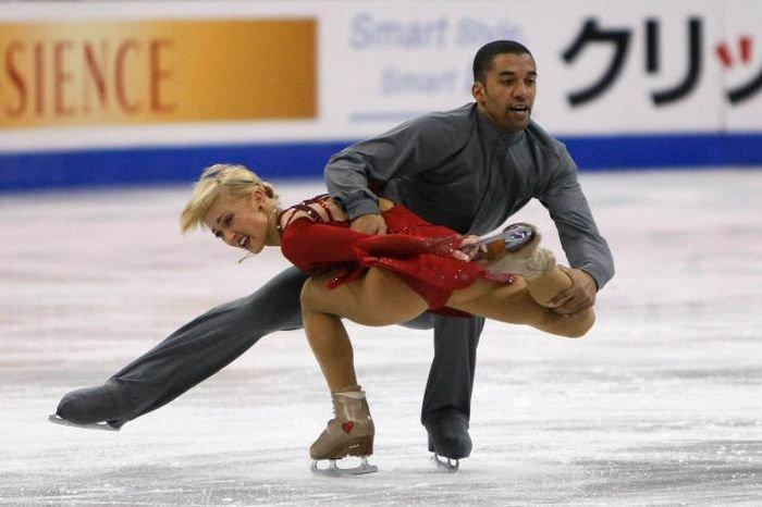 танцы на льду пикантные фото