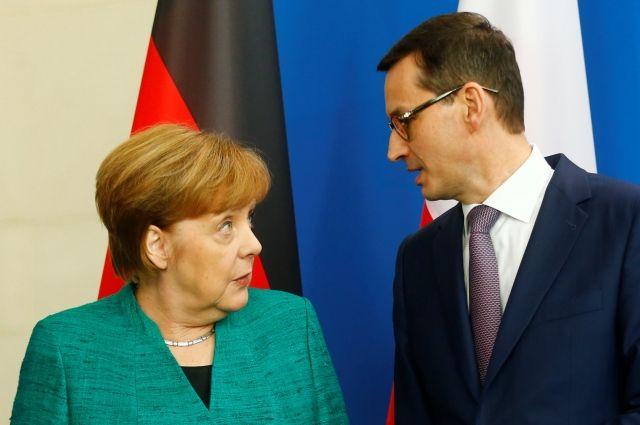 Меркель заявила, что «Северный поток - 2» не несет в себе угрозу