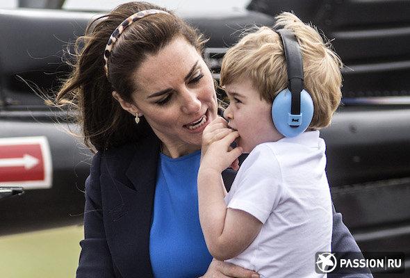 Кейт Миддлтон пожаловалась на сына