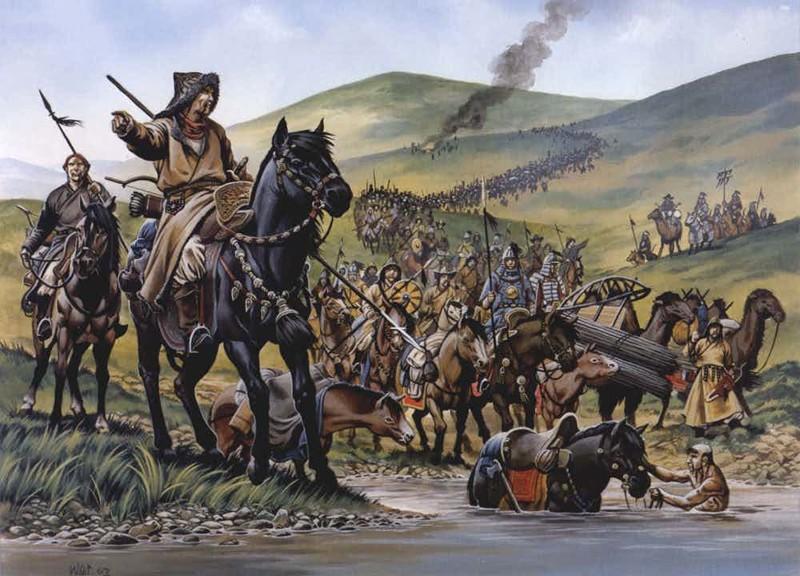 1. Крупнейшая в истории человечества континентальная империя Чингисхан, история, факт