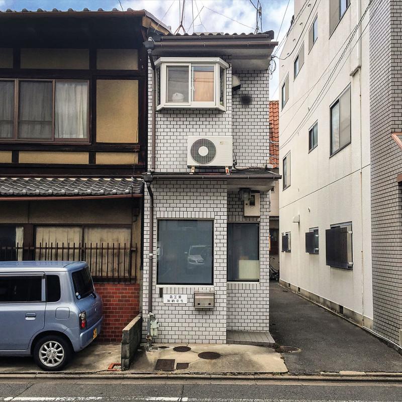 Офис компании kotobuki Industries архитектура, дома, здания, киото, маленькие здания, местный колорит, фото, япония