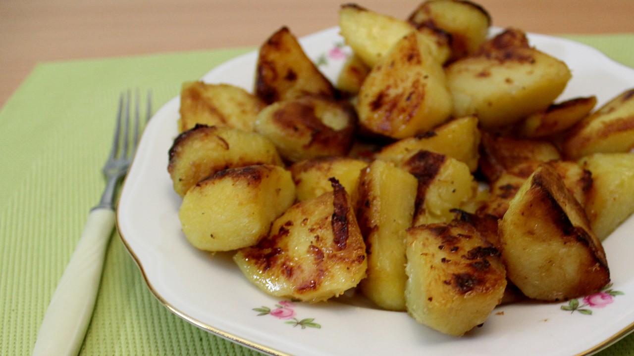 духовке фото рецепт с золотистая в картошка