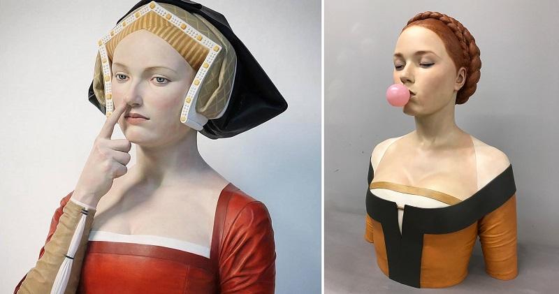 Мадонна, ты пьяна, иди домой: скульптор осовременивает образы эпохи Возрождения