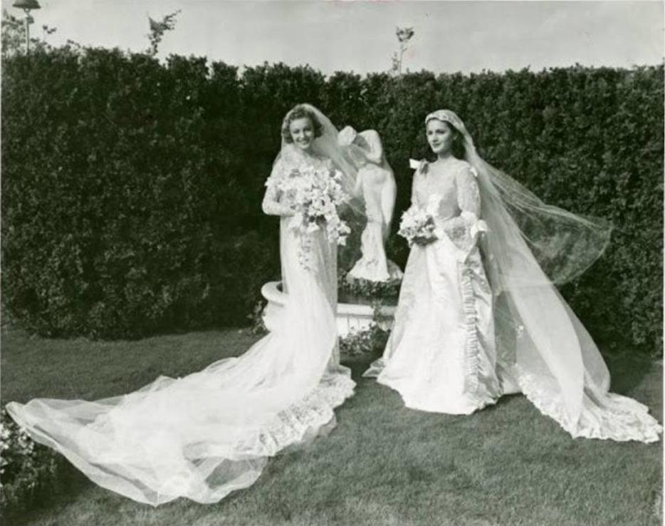 История моды: шлейфы в сваде…