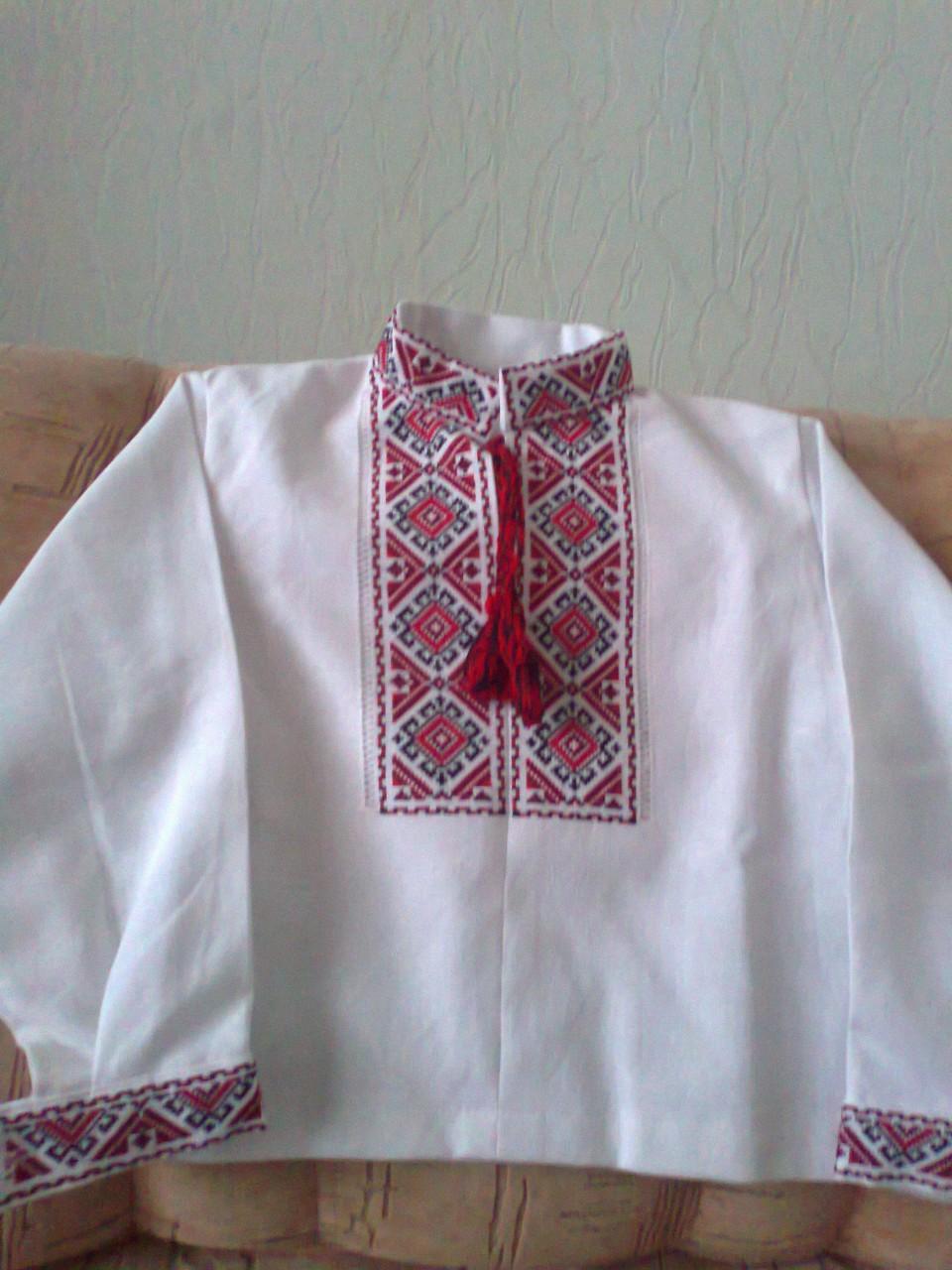 Украинская вышиванка своими руками. Фото, видео, схемы и узоры 37