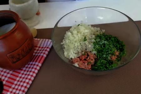 Ленивые чебуреки - быстрый рецепт: фото шаг 2