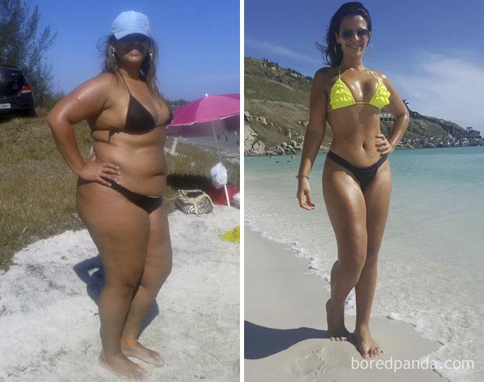 похудеть за шесть месяцев