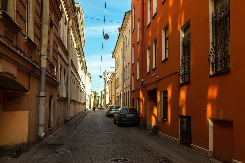 Самая узкая улица история, питер, факты