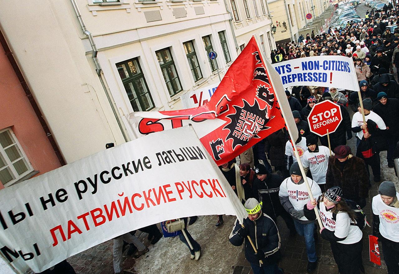 В Латвии готовятся расправиться с русскими