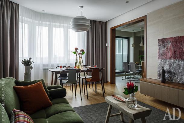 Квартира в Москве, 90 м²