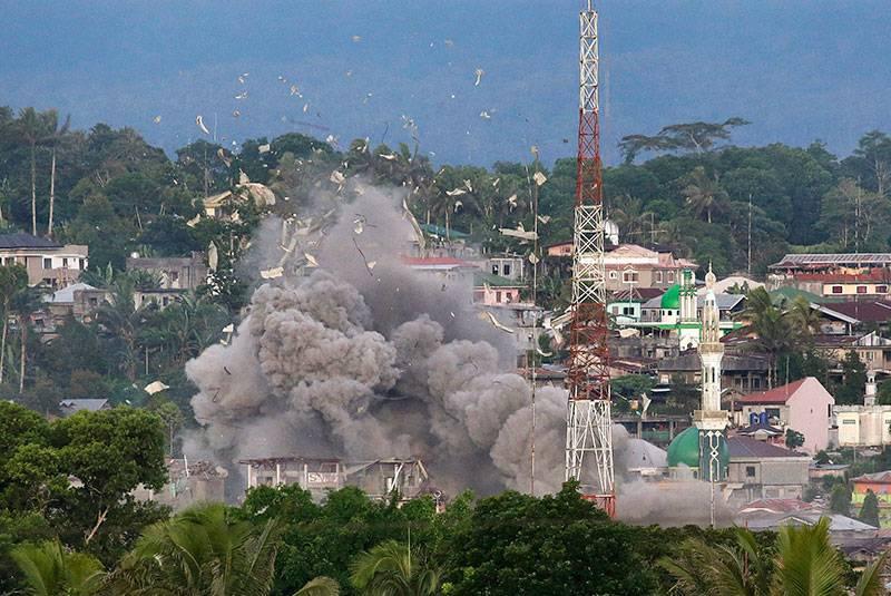 Кровь и смерть Марави. Удастся ли Дутерте победить «филиппинское ИГИЛ»?