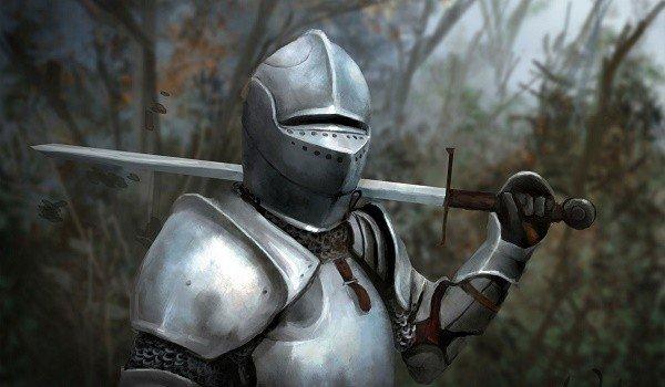 рыцарь в облачении