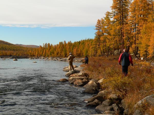 Рыбалка осенью − одно удовольствие