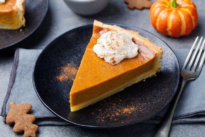 Пирог из тыквы и апельсина.  Фото: google.com.