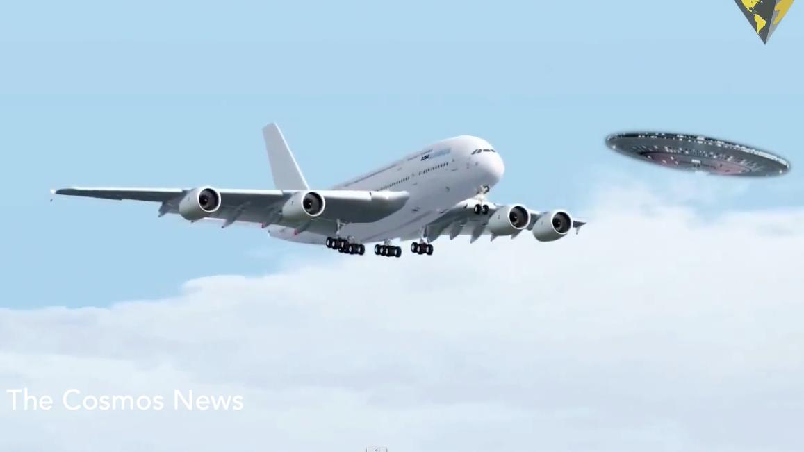 Столкновения с НЛО. Истории, рассказанные летчиками