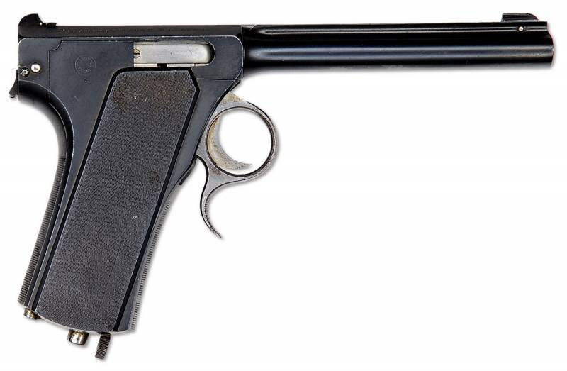 Пистолет Франкотта (Francotte repeating pistol)