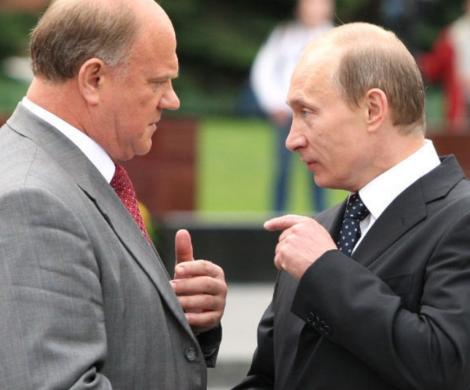 «У Путина остался год»: Зюга…